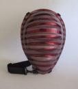 Egg Bag raye rouge 3