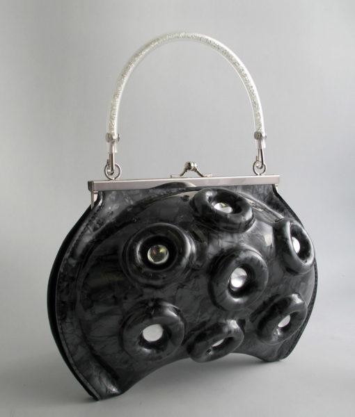 octopus cristaux noir 2